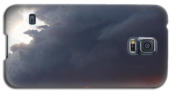 Fire Sunset Below Galaxy S5 Case