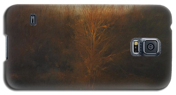 Galaxy S5 Case featuring the painting Fire Tree by Cap Pannell