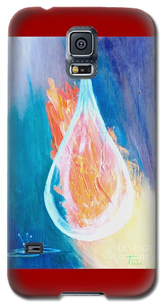 Fire Water Galaxy S5 Case