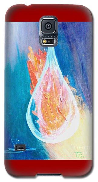 Fire Water Galaxy S5 Case