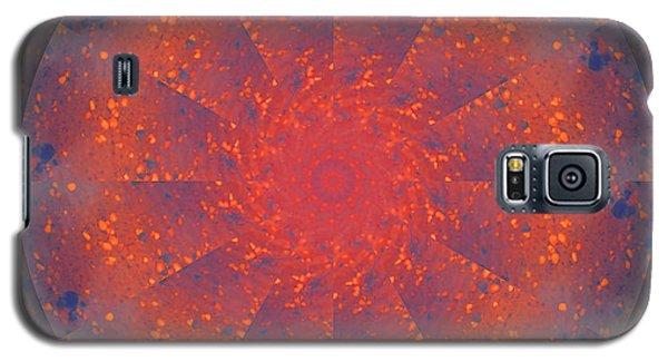 Fire Water Mandala Galaxy S5 Case