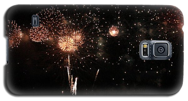 Fire Work Display Galaxy S5 Case