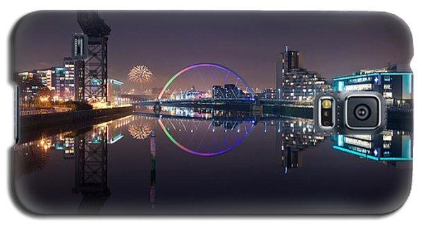 Fire Works Night Glasgow Galaxy S5 Case