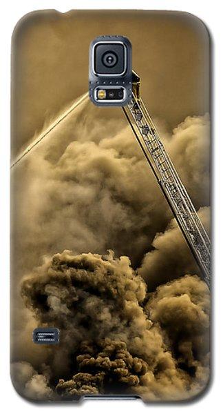 Firefighter-heat Of The Battle Galaxy S5 Case
