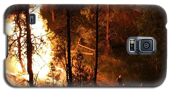 Firefighters Burn Out On The White Draw Fire Galaxy S5 Case