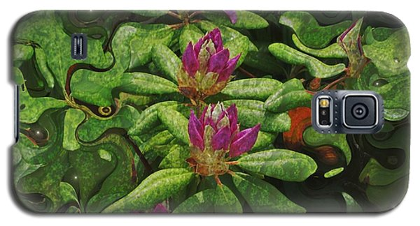 Fireflies And Flowers Galaxy S5 Case