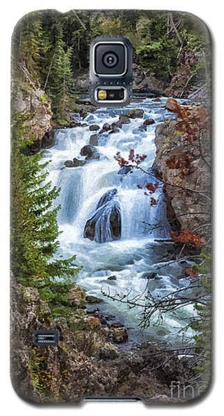 Firehole Falls Galaxy S5 Case