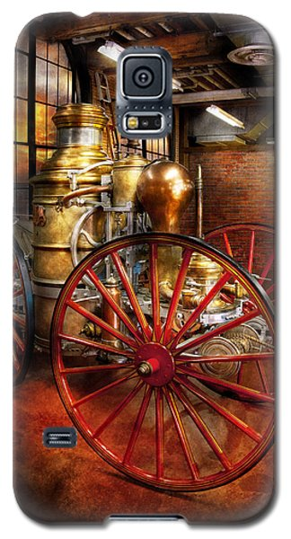 Fireman - One Day A Long Time Ago  Galaxy S5 Case by Mike Savad