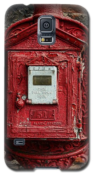 Fireman - The Fire Alarm Box Galaxy S5 Case