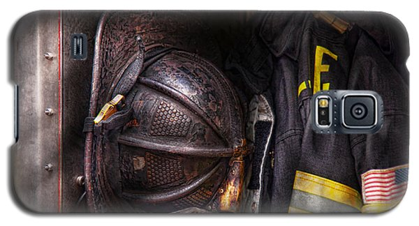 Fireman - Worn And Used Galaxy S5 Case