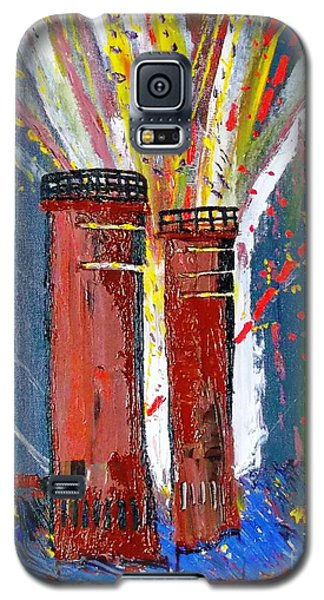 Firetowers Fireworks Galaxy S5 Case