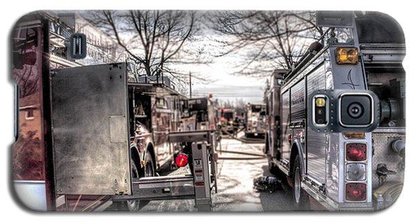 Firetruck Isle Galaxy S5 Case by Jim Lepard