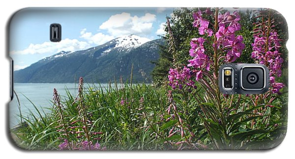 Fireweed At Yakutania Point Galaxy S5 Case