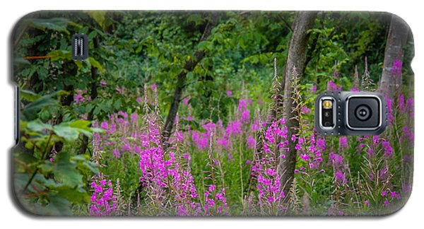 Fireweed In The Irish Countryside Galaxy S5 Case