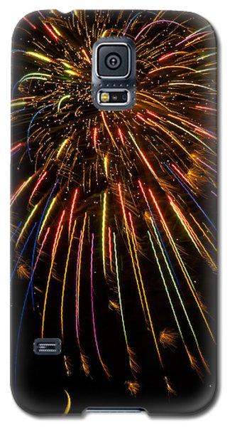 Firework Indian Headdress Galaxy S5 Case