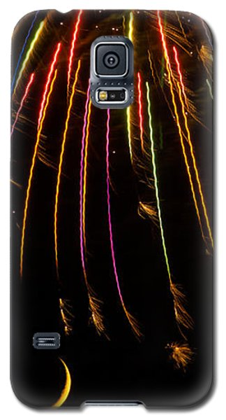 Firework Indian Headdress Galaxy S5 Case