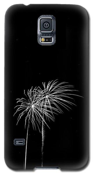 Firework Palm Trees Galaxy S5 Case