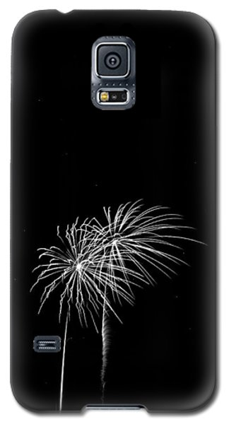 Firework Palm Trees Galaxy S5 Case