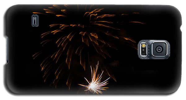 Galaxy S5 Case featuring the photograph Fireworks 2 by Susan  McMenamin