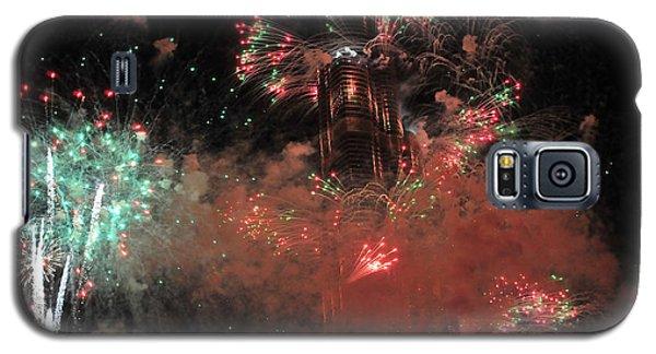 Burj Khalifa Fireworks 6 Galaxy S5 Case
