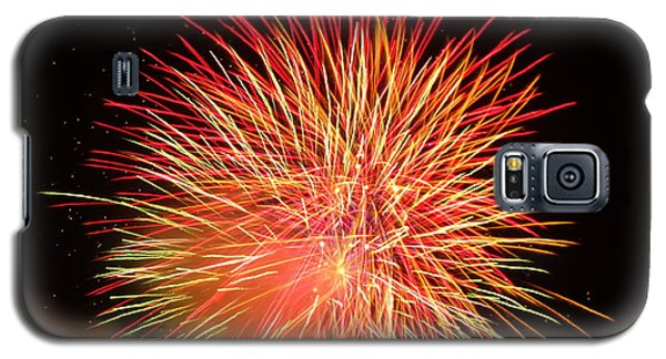 Galaxy S5 Case featuring the photograph Fireworks  by Michael Porchik