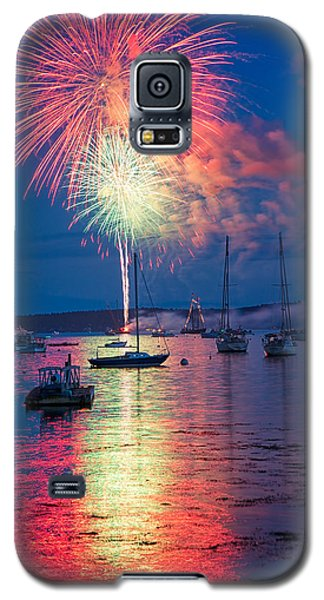 Fireworks Over Boothbay Harbor Galaxy S5 Case