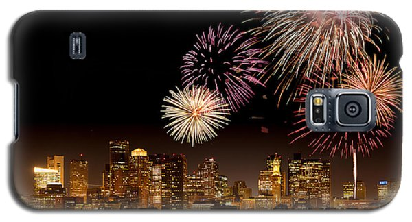 Fireworks Over Boston Harbor Galaxy S5 Case