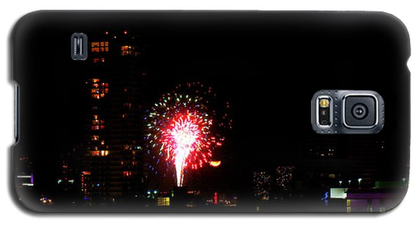 Fireworks Over Miami Moon Galaxy S5 Case