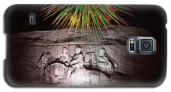 Fireworks Over Stone Mountain Galaxy S5 Case