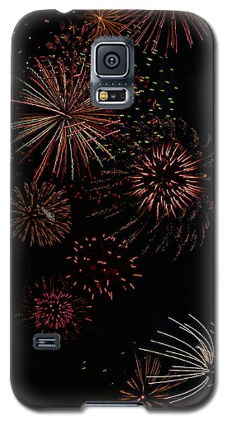 Galaxy S5 Case featuring the photograph Fireworks - Phone Case Design by Gregory Scott