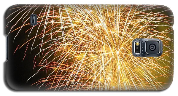 Galaxy S5 Case featuring the photograph Fireworks by Ramona Johnston