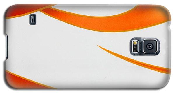 Galaxy S5 Case featuring the photograph Firey Orange by Joe Kozlowski