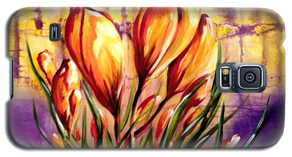 First Blooms Of Spring Galaxy S5 Case
