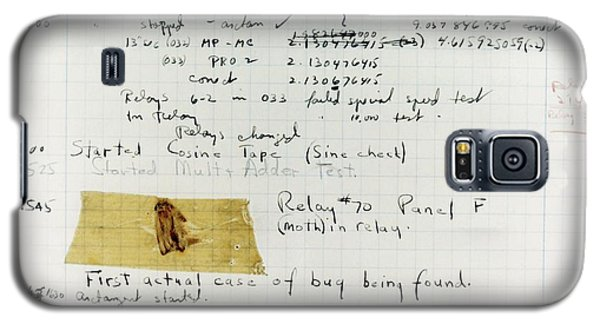 First 'computer Bug' Galaxy S5 Case by Us Navy, Us Naval Historical Center