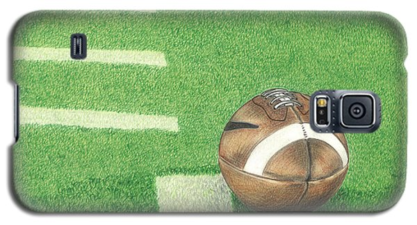 First Down Galaxy S5 Case by Troy Levesque