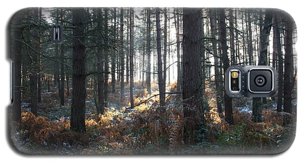 Galaxy S5 Case featuring the photograph First Fall Of Snow On Cannock Chase by Jean Walker