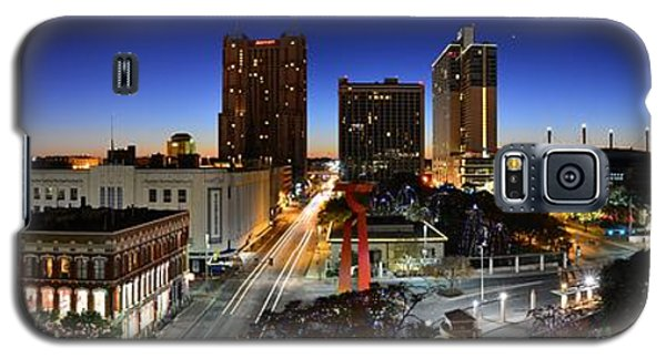 First Light On San Antonio Skyline - Texas Galaxy S5 Case