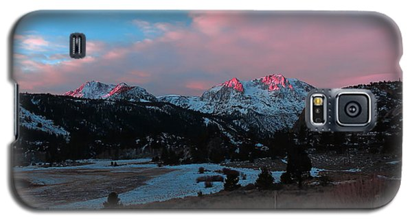 First Light On Carson Galaxy S5 Case by Paul Foutz