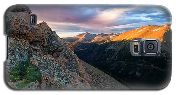 First Light On The Mountain Galaxy S5 Case by Ronda Kimbrow