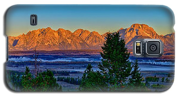 First Light On The Tetons Galaxy S5 Case