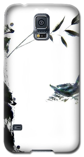 Galaxy S5 Case featuring the painting First Reflection by Bill Searle