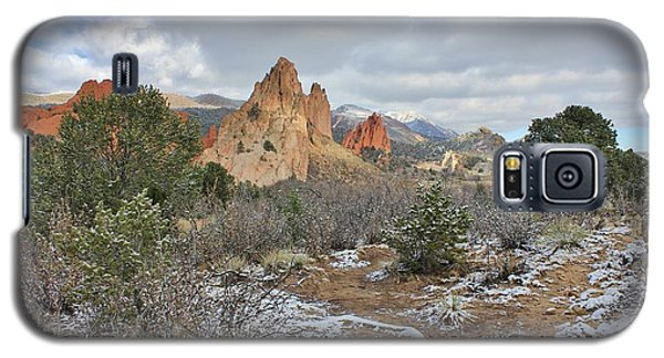 First Snow At Garden Of The Gods Galaxy S5 Case by Diane Alexander