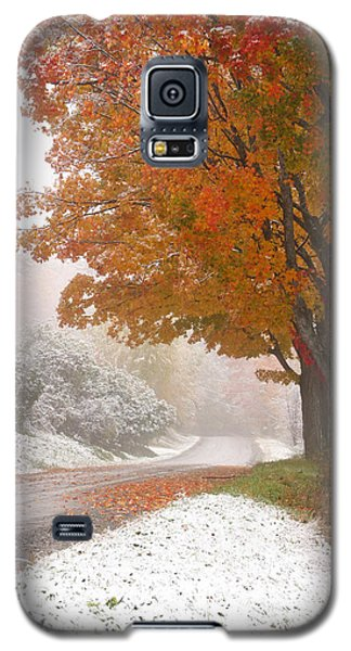 First Snow Galaxy S5 Case by Butch Lombardi