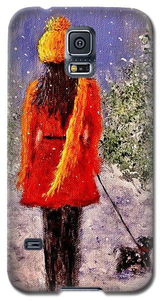 First Snow.. Galaxy S5 Case by Cristina Mihailescu
