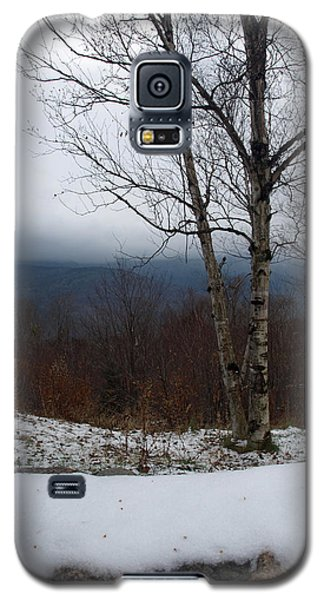 First Snow Galaxy S5 Case