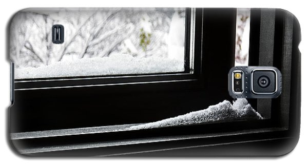 First Snow Galaxy S5 Case by Rhonda Strickland