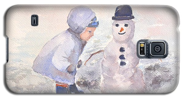 First Snowman Galaxy S5 Case