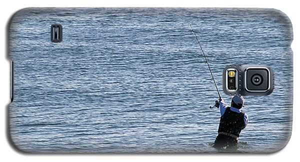 Galaxy S5 Case featuring the photograph First Striper Of The Season by Greg Graham