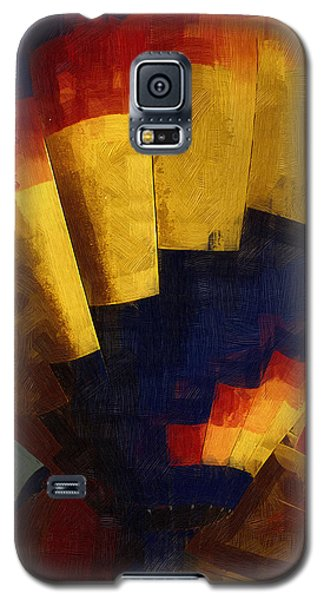 Galaxy S5 Case featuring the digital art First Up by Kirt Tisdale