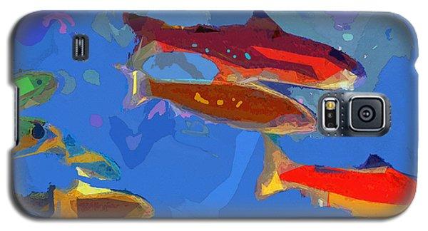 Galaxy S5 Case featuring the digital art Fish 1 by David Klaboe